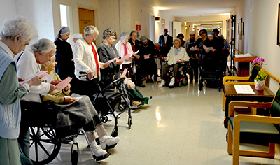 Sacred Heart Nursing Home >> Re Dedicating Ourselves To The Sacred Heart Little Sisters Of The