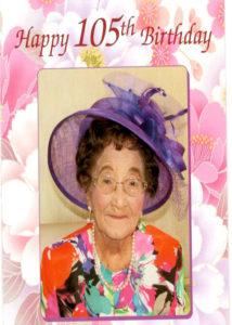 FLora 105 Birthday